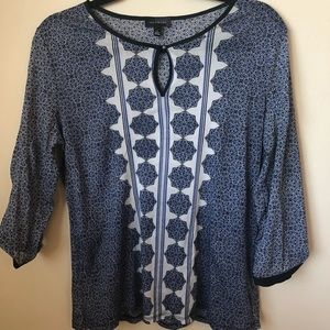 The Limited sheer blouse size Large